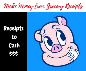 Make Money from Grocery Receipts